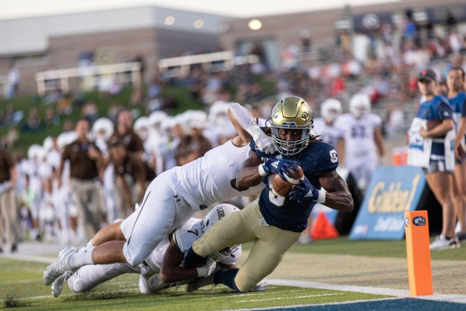 Aggies run riot in lopsided home opener