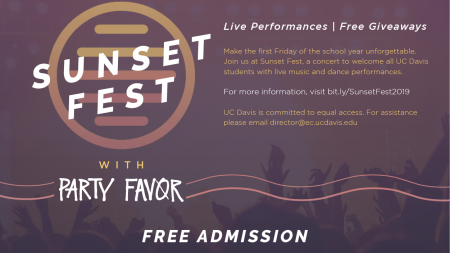 Sunset Fest to kick off Fall Quarter
