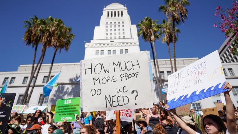 Global climate strikes pick up momentum in Davis