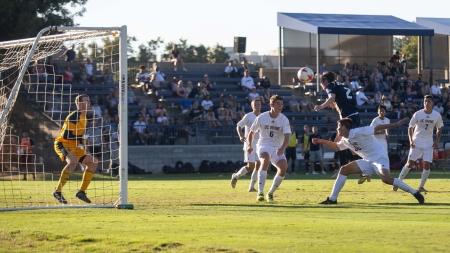 UC Davis men's soccer battle through an up-and-down start to season