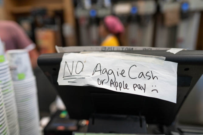 CoHo Aggie Cash conspiracy proves untrue: food service director puts students' theories to rest