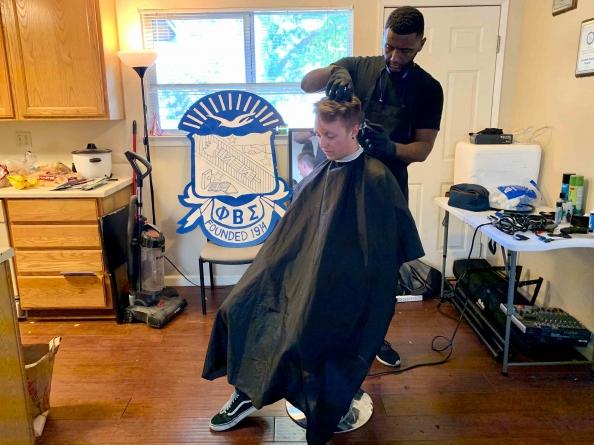 Phi Beta Sigma hosts Fresh Hair Fridays