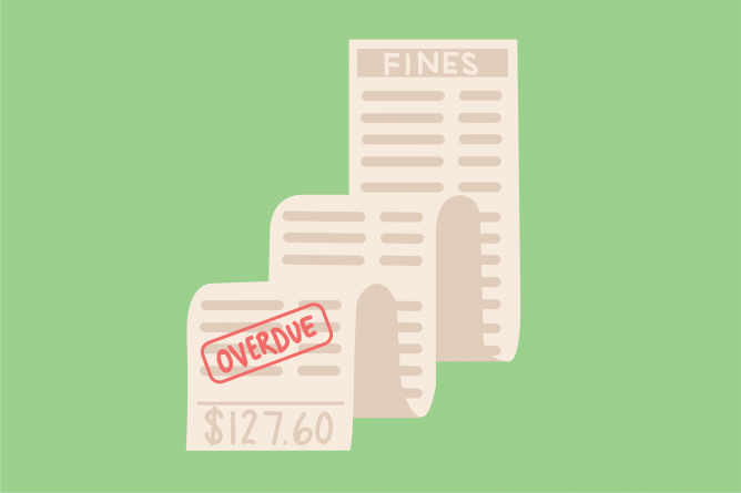 We should be fine with eliminating library fines