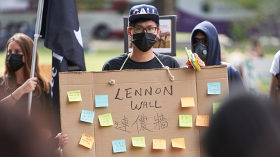 Hong Kong protests manifest on UC Davis campus
