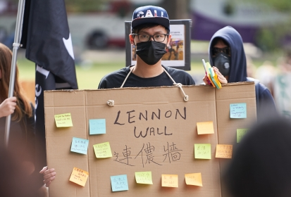 Hong Kong protests manifest on UC Davis campus