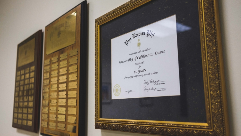 Honors societies stand for more than résumé fluffing