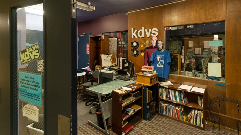KDVS' future location remains uncertain, but employees are making the most of the time left in historic office