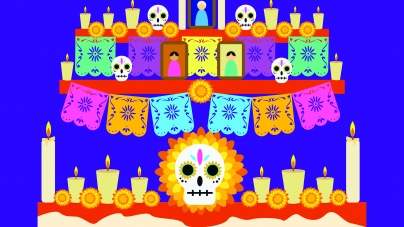 The difference between Halloween and Day of the Dead