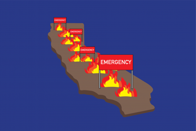 Governor Newsom declares state of emergency over Kincaid Fires