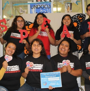 "Student organizations support DACA and ""I Stand With…"" solidarity campaigns"
