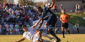 Aggies secure top spot in Big West on senior day