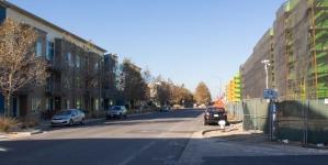 Students living at West Village complain about construction noise