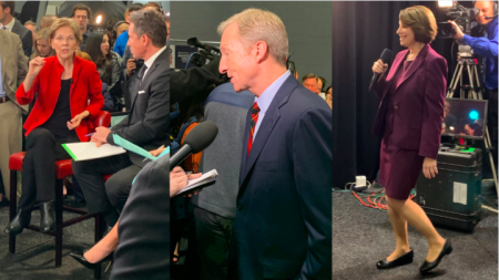 Highlights from the last Democratic Debate of the year