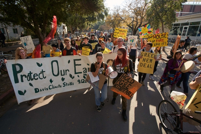 Support drawn for Dec. 6 climate strike — one of many recent climate-related strikes in community