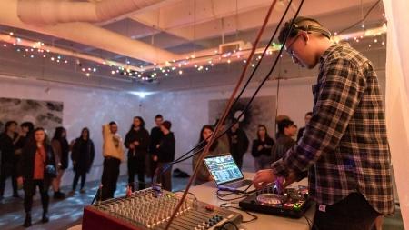Basement Gallery, KDVS host pop-up show