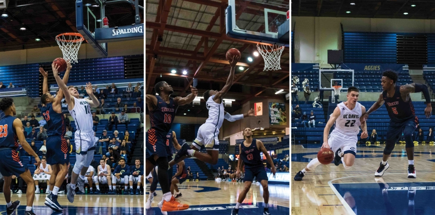 UC Davis men's basketball drops second conference game at The Pavilion