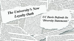 Chair of Math Department likens UC's diversity statements to 1950 anti-Communist oaths in op-ed