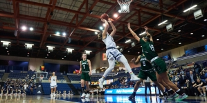 Women's basketball team continues home court dominance