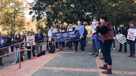 Lecturers are without a contract after UC-AFT contract ended Jan. 31