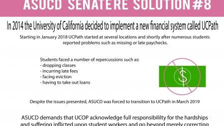 ASUCD Senate resolution condemns UCPath rollout at UC Davis