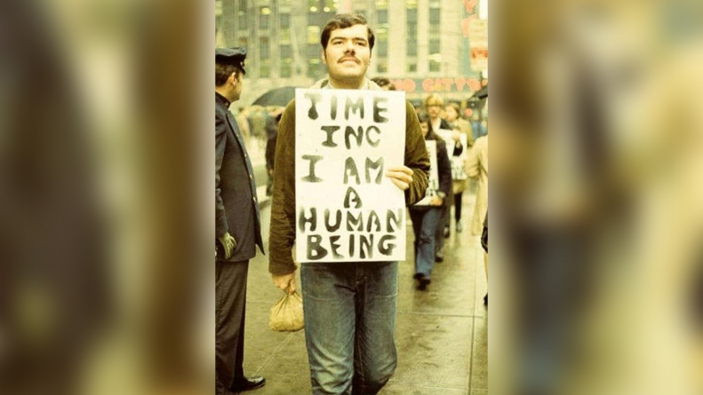 """A """"troublemaker"""" tells his tale: Longtime activist shares the story behind Stonewall"""