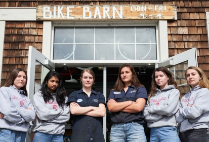 Girl Barn: Bike Barn promotes female empowerment