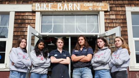 Girl Barn: Bike Barn promotes female empowerment