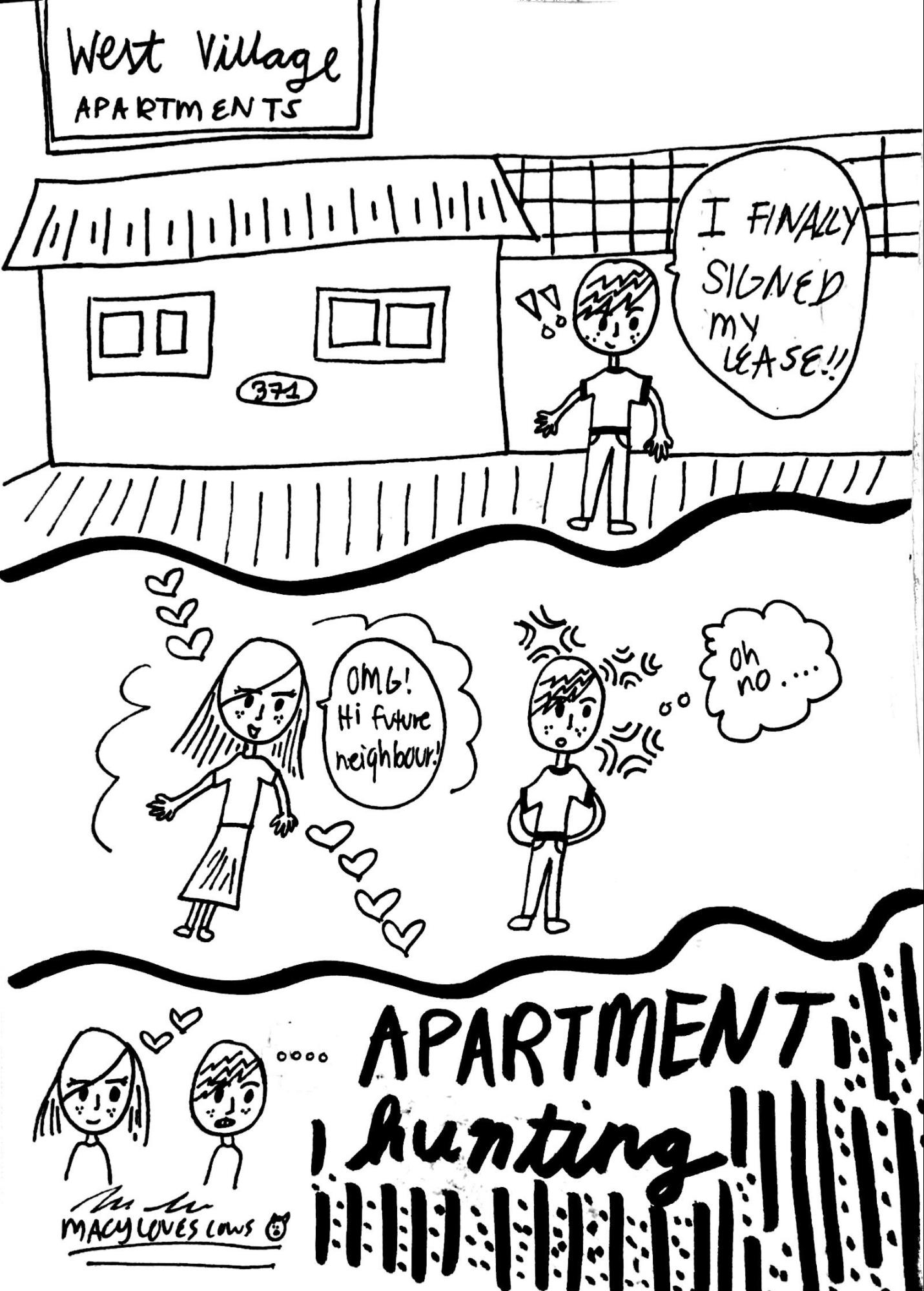 Cartoon: Apartment Hunting