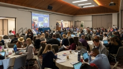 UC Davis hosts symposium on robotics in math teaching at University of Redlands