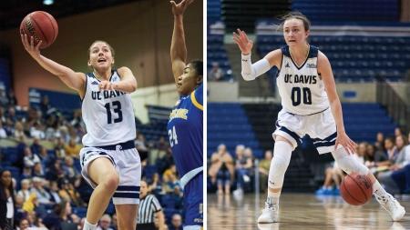 Transfer Triumphs: Katie Toole and Mackenzie Trpcic elevate UC Davis Women's Basketball