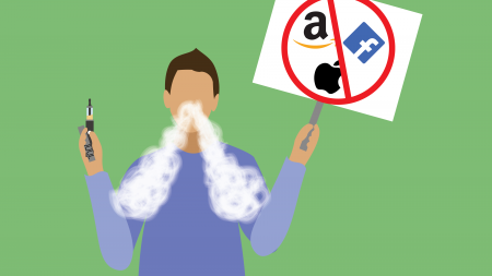 """Humor: Hip Zoomer protesting big corporations while vaping: """"Juul is a small corporation"""""""