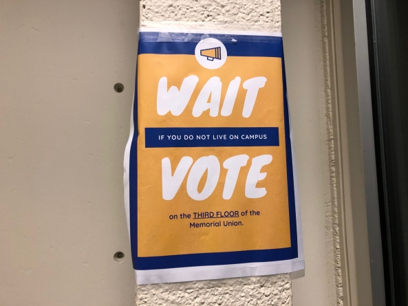 UC Davis offers on-campus voting options