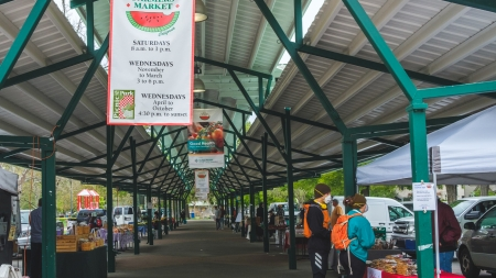 How the Davis Farmers Market and the community are adjusting