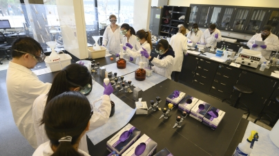 Science classes modify laboratories for online learning this spring