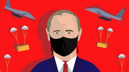 Russia's suspicious calmness during COVID-19