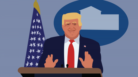 "Humor: Trump: ""How Vietnam and syphilis prepared me for coronavirus"""