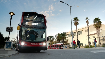 Unitrans reduces schedule, goes fare-free while running during shelter-in-place