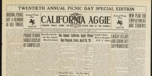 Through the decades: snapshots of UC Davis life from the past 105 years of The Aggie