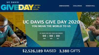 Give Day breaks new records amid campus closure, stay-at-home order