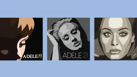 Exploring Adele's canon through the ages