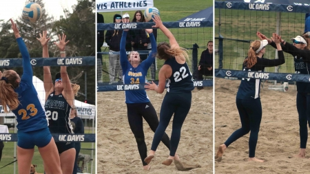 UC Davis beach volleyball reflects on shortened second season