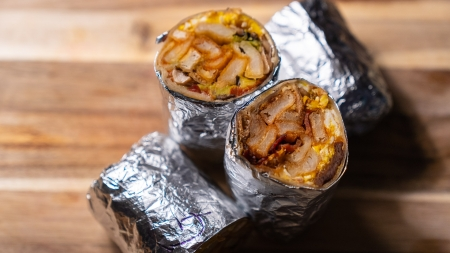 Best Breakfast Burrito and Best Hangover Food: Ali Baba