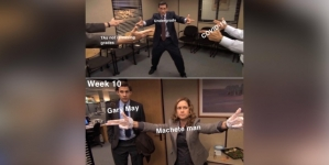 """Best Meme: """"The Office: Only Gary May can Save us now"""""""