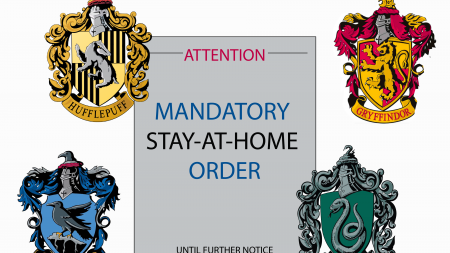 Shelter-in-place advice, based on your Hogwarts house