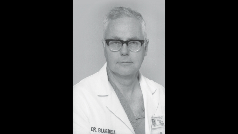 In Memoriam: Dr. F. William Blaisdell, former chair of UCDMC Surgery Department
