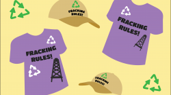 DNC, RNC partner up to debut new 'Fracking Rules!' merchandise