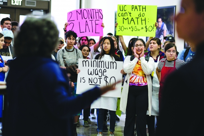 UCPath errors persist one year after legislation preventing UC 'wage theft' exemptions