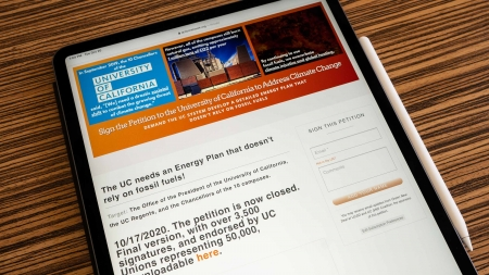 Petition calling for a transformed energy system garners more than 3,700 signatures