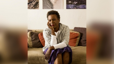 """Claudia Rankine: """"There is no justice, there's 'just us'"""""""