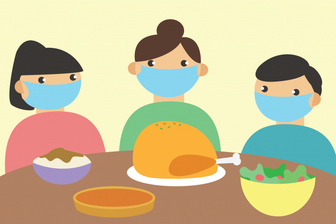 Students explore ways to celebrate Thanksgiving during the pandemic